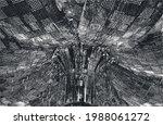 distressed overlay texture of...   Shutterstock .eps vector #1988061272