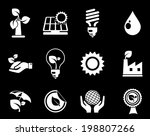 ecology icons | Shutterstock .eps vector #198807266