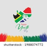 youth day south africa. june 16....   Shutterstock .eps vector #1988074772
