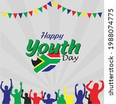 youth day south africa. june 16.... | Shutterstock .eps vector #1988074775
