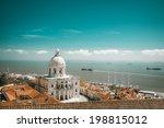 santa engracia church  or the... | Shutterstock . vector #198815012