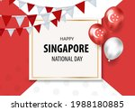 singapore national day holiday... | Shutterstock .eps vector #1988180885