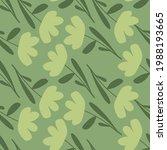 pale green tones seamless... | Shutterstock .eps vector #1988193665