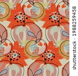abstract seamless pattern with... | Shutterstock .eps vector #1988259458