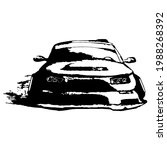 drift car  driving style  print ...   Shutterstock .eps vector #1988268392