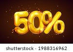 50 percent off. discount... | Shutterstock .eps vector #1988316962