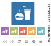 fast food menu with... | Shutterstock .eps vector #1988321258