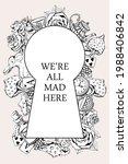 Alice In Wonderland In Vintage...