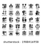 set of creative learning thin... | Shutterstock .eps vector #1988416958