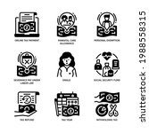 individual income tax icon set... | Shutterstock .eps vector #1988558315