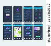 mobile app online shopping ui...