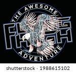 eagle t shirt design. american... | Shutterstock .eps vector #1988615102