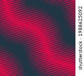 seamless halftone wavy pattern. ... | Shutterstock .eps vector #1988625092