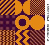 minimalistic geometric seamless ... | Shutterstock .eps vector #1988625095