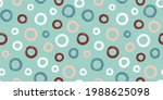 olorful seamless pattern with... | Shutterstock .eps vector #1988625098