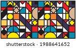 simple minimalist geometric...   Shutterstock .eps vector #1988641652