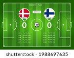 football match denmark  ...   Shutterstock .eps vector #1988697635