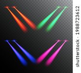 laser eyes effect issolated on...   Shutterstock .eps vector #1988723612