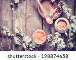 aromatherapy spa set  spa... | Shutterstock . vector #198874658