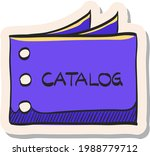 hand drawn catalog icon in...   Shutterstock .eps vector #1988779712