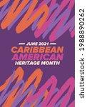 caribbean american heritage...   Shutterstock .eps vector #1988890262