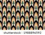 seamless abstract geometric... | Shutterstock .eps vector #1988896592