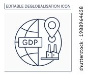 domestic production line icon.... | Shutterstock .eps vector #1988964638