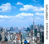 cityscape of modern city... | Shutterstock . vector #198897695