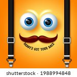 father's day emoji vector... | Shutterstock .eps vector #1988994848
