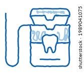 stomatology equipment sketch... | Shutterstock .eps vector #1989041075