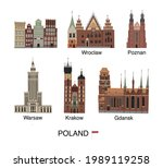 vector color hand drawn... | Shutterstock .eps vector #1989119258