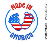 made in the usa   independence... | Shutterstock .eps vector #1989183212