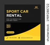 rent car for social media... | Shutterstock .eps vector #1989288722