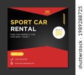 rent car for social media... | Shutterstock .eps vector #1989288725
