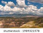 Panoramic View From Mesa Verde...
