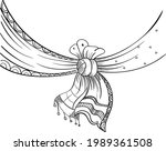 indian wedding symbol wedding...   Shutterstock .eps vector #1989361508