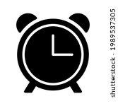 clock icon. alarm sign. vector...   Shutterstock .eps vector #1989537305