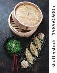 Panasian Steamed Dumplings With ...