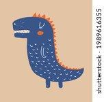 cute simple vector illustration ... | Shutterstock .eps vector #1989616355