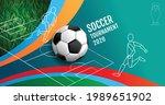 european soccer tournament ...   Shutterstock .eps vector #1989651902
