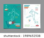 european soccer tournament ...   Shutterstock .eps vector #1989652538