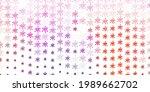 light pink  blue vector...   Shutterstock .eps vector #1989662702