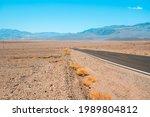 Empty Infinite Road In The...