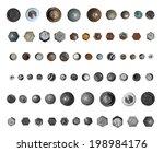 screws head collection.... | Shutterstock . vector #198984176