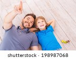 look over there  top view of... | Shutterstock . vector #198987068