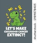 childhood cancer awareness let...   Shutterstock .eps vector #1989878405