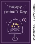 father's day greeting card....   Shutterstock .eps vector #1989908888