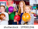 parents playing with children... | Shutterstock . vector #199001246
