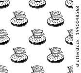 donut disturb icon logo... | Shutterstock .eps vector #1990048568