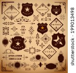 vector. design elements ready... | Shutterstock .eps vector #199013498